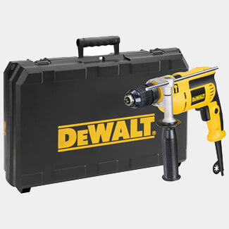 Dewalt 13mm Keyless Percussion Drill 240V And Case