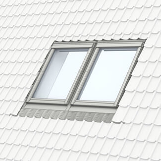 Velux Coupled Recessed Side By Side Flashing - 100mm Gap