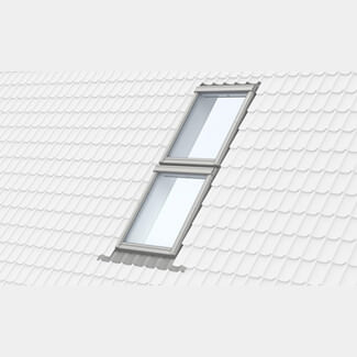 Velux Duo Combination Above-Below Flashing - 100mm Gap