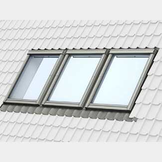 Velux Triple Combination Side By Side Flashing - 100mm Gap