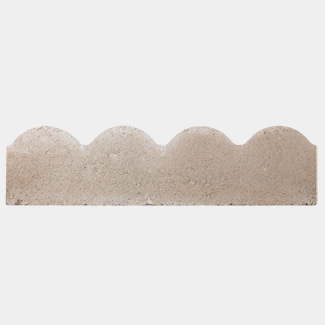 Bradstone Scalloped Edging 600mm x 50mm x 150mm - Various Finish And Quantity Available