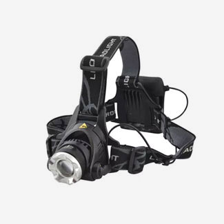 Lighthouse Elite 3W LED Zoom Headlight 120 Lumens