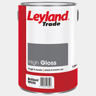 Leyland Trade High Gloss Paint - More Variations Available