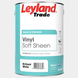 Leyland Trade Vinyl Soft Sheen Paint - More Colour And Sizes Available