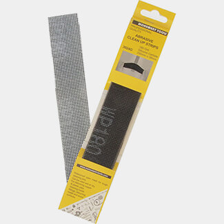 Monument Tools Abrasive Clean Up Strips - Pack of 10