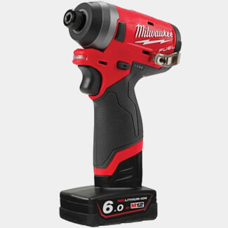 Milwaukee M12 FID-602X Fuel Sub Compact 1-4in Impact Driver