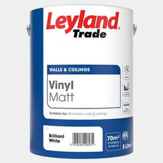 Leyland Trade Vinyl Matt Emulsion Paint - More Colour And Sizes Available