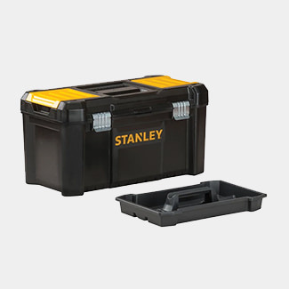 Stanley Basic Toolbox With Organiser Top - Various Sizes Available