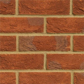 Hanson Forterra Frogged Oakthorpe Multi Stock Brick Red 65mm (Sold Per Pallet)