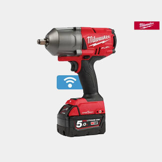Milwaukee M18 ONEFHIWF12-502X FUEL ONE-KEY 1/2in Impact Wrench 18V 2 x 5.0Ah Li-ion
