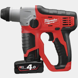 Milwaukee M12 H-402C Compact Cordless SDS 2 Mode Hammer