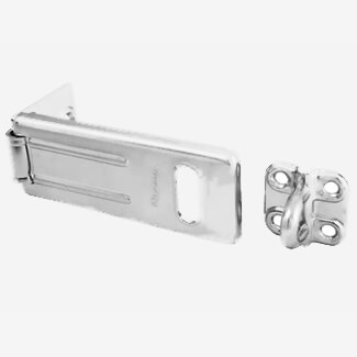 Master Lock Wrought Steel Hasp