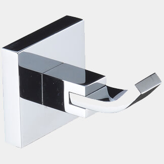 Bristan Square Wall Mounted Robe Hook