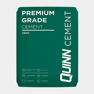 Quinn Premium Cement Plastic Bag 25Kg - Available In Various Quantity