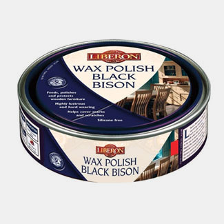 Liberon 500ml Wax Wax Polish Black Bison Fine Paste For All Types Of Wood