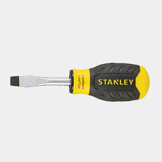 Stanley Cushion Grip Flared Tip Screwdriver - Various Sizes Available
