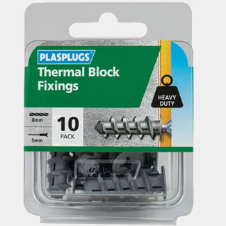 Plasplugs Thermal Block Fixings - Various Pack Available