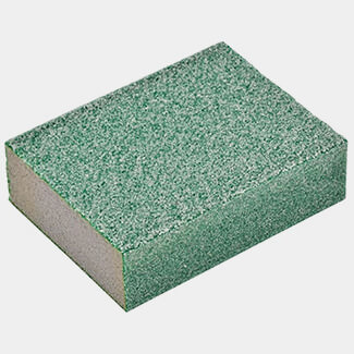 Oakey Dual-Grit Flexible Sanding Sponge Coarse Or Extra Coarse