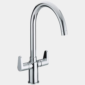 Bristan Quest Chrome Kitchen Sink Mixer Tap With EasyFit Base