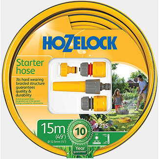 Hozelock Starter Hose With Set 12.5mm Diameter