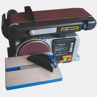 Dart FOX 4 Inch Belt And 6 Inch Disc Sander