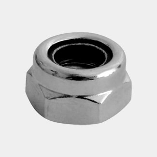 Timco Stainless Steel Nylon Nuts - Type T