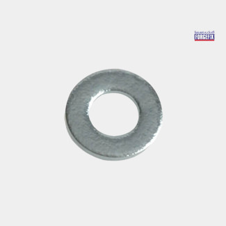 Forgefix Flat Washers DIN125 ZP - Available In Various Pack Sizes