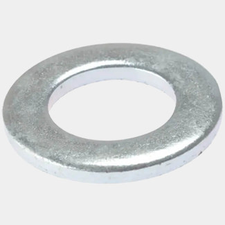 Forgefix Flat Washer Heavy-Duty Zinc Plated - Various Pack Sizes Available