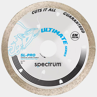 Ox Tools Spectrum Sl-Pro Ultimate All Tiles Cutting 115mm Diamond Blade