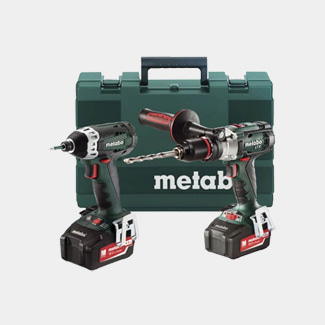 Metabo LTX Combi And Impact Driver Twin Pack 18V 2 x 4.0Ah