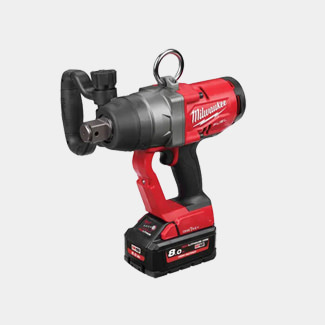 Milwaukee  M18 ONEFHIWF1-802X FUEL ONE-KEY 1in Impact Wrench 18V 2 x 8.0Ah Li-ion