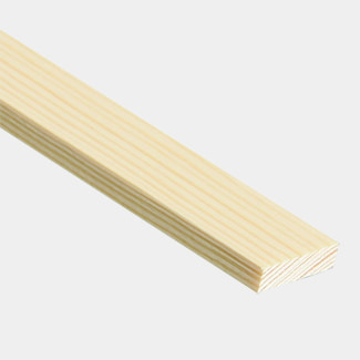 Cheshire Mouldings Clear Pine Stripwood PSE 2400mm Length - Various Size And Quantity Available