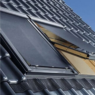 Velux Solar Heat Reduction Awning Blind For Flat Roof Windows
