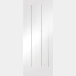 XL Joinery Suffolk Internal White Primed Fire Door - Various Size Available