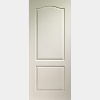 XL Joinery Classique 2 Panel Internal White Moulded Fire Door