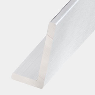 Rothley Anodised Aluminium Unequal Sides Angle - Various Sizes And Lengths Available