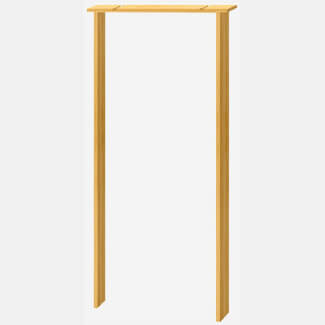 XL Joinery Internal Softwood Door Lining - More Sizes Available
