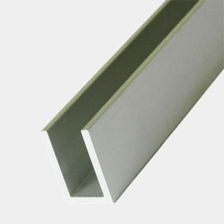 Rothley Anodised Aluminium Angle U Profiles - Various Sizes And Lengths Available