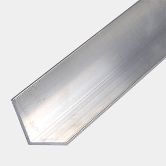 Rothley Uncoated Aluminium Equal Angle - Various Sizes And Lengths Available
