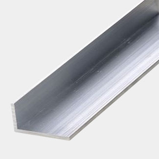 Rothley Uncoated Aluminium Unequal Angle - Various Sizes And Lengths Available