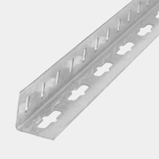 Rothley Galvernised Steel Equal Sided Drilled Angle - Various Sizes And Lengths Available