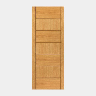 JB Kind Pre Finished Oak Sirocco Door - Various Width And Thickness Available
