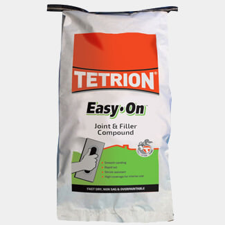 Tetrion Easy-On Filling And Jointing Compound Sack 5Kg