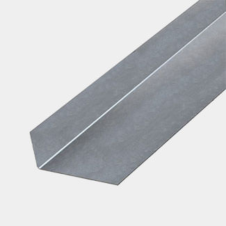 Rothley Galvanised Steel Unequal Sided Angle 1 Meter Length