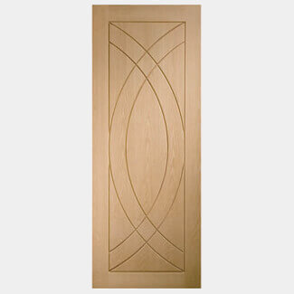 XL Joinery Treviso 1981mm High Unfinished Internal Oak Door - Various Width Available
