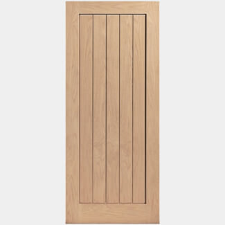 JB Kind Thames Oak Veneered Fire Door - More Sizes Available