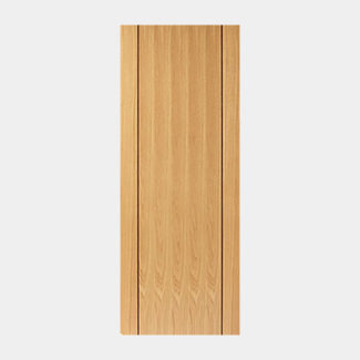 JB Kind Pre Finished Oak Chartwell Door - Various Width And Thickness Available