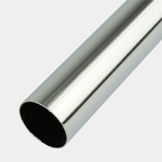 Rothley Decorative Steel Tube Chrome - Various Sizes Available