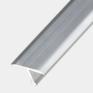 Rothley Anodised Aluminium Joint Cover Profile 1Mtr Length - Various Sizes Available