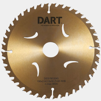 Dart Gold ATB Wood Saw Blade - More Sizes Available